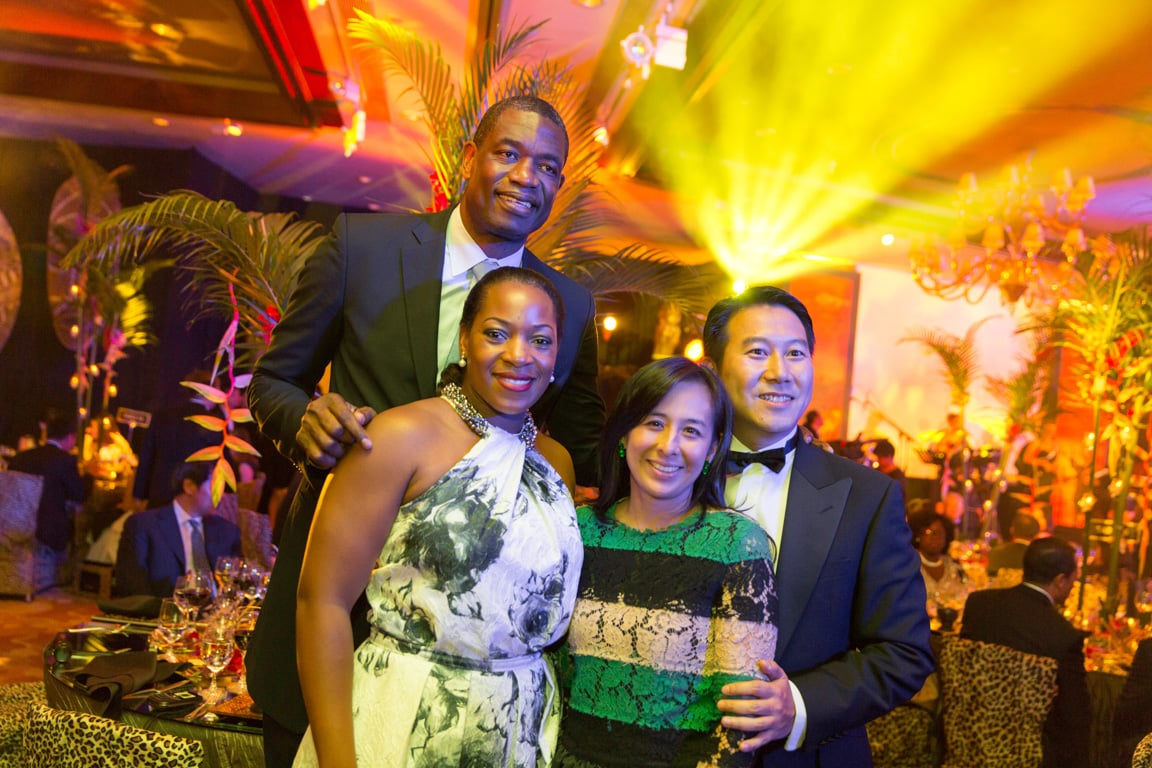Dikembe, Rose and other guests.jpg