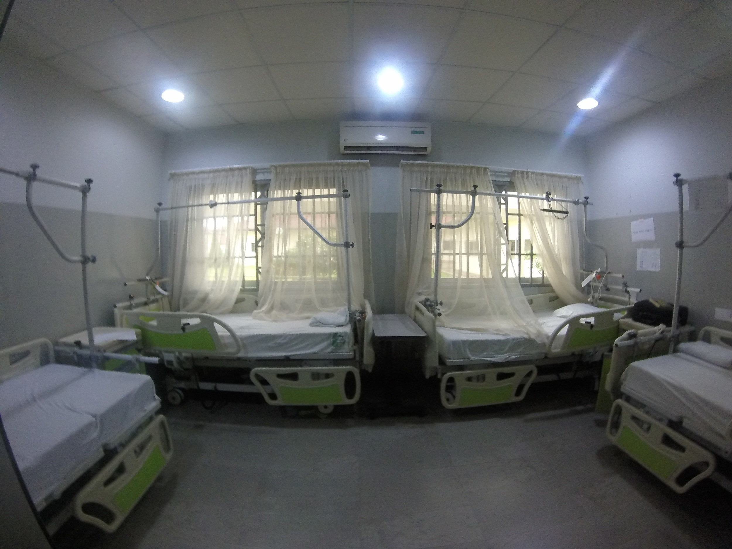One of the wards for pre-op, post-op, and extended stay patients