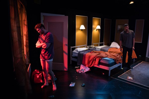 """""""TAPE"""", as directed by Paul Edwards, starring Amanda Junquist, Eric Murray, and Mason Sullivan has been mentioned in Broadway World. This marks the second collaboration this repertory season between Paul Edwards and Mason Sullivan since having closed """"Trifles"""" earlier in the season. """"TAPE"""" will be performed again tonight, May 4th, at 7:30pm and tomorrow, May 5th, at 7:30pm. """"TAPE"""" will close on Saturday, May 6th, with two performances at 3:00pm and 7:30pm.Tickets can be reserved at [asdsrepseason.com][1]  [1]: http://asdsrepseason.com  Photo credit: [Scott Wynn][2]  [2]: http://scottwynn.com"""