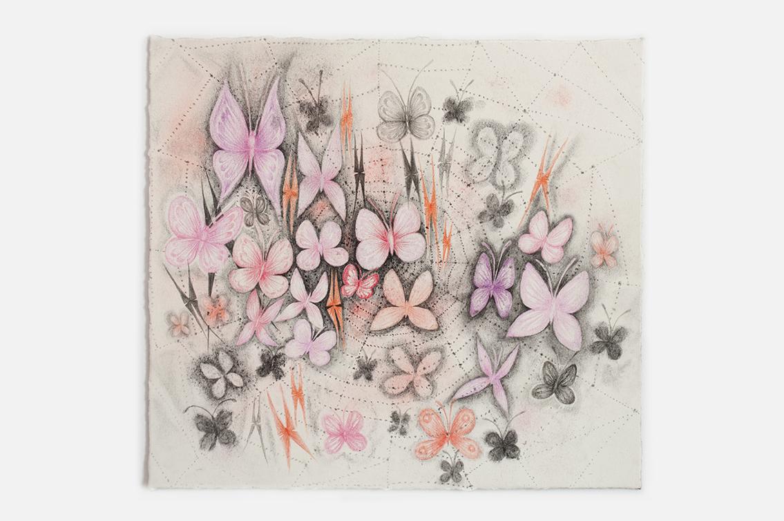 Aurel Schmidt_Night Music 3_Pastel, charcoal, watercolor & pencil on paper_25 x 25 cm_2017.jpg