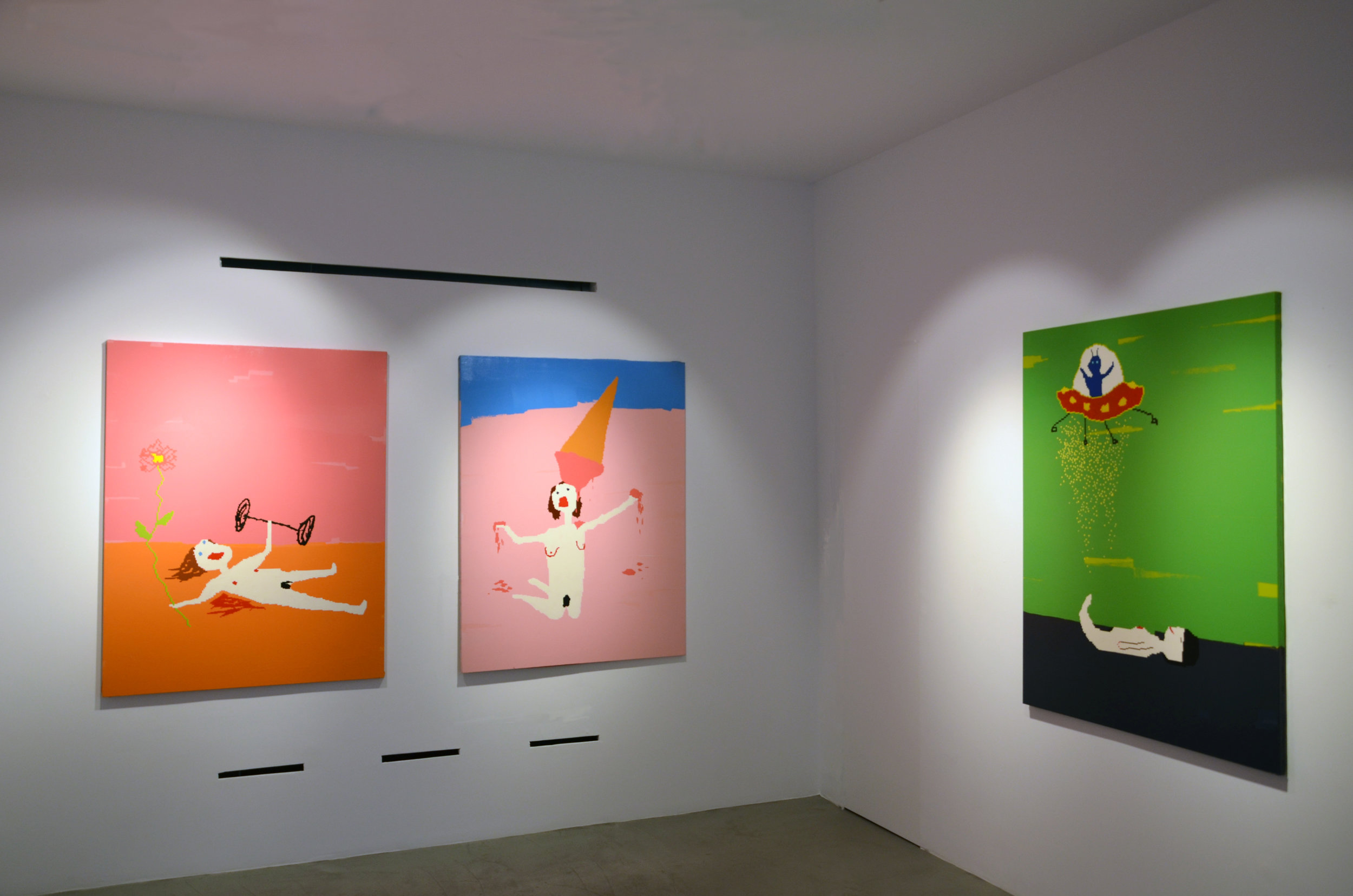 Maja Djordjevic_Installation view (I don't know you, but I love you)_2015_1.jpg
