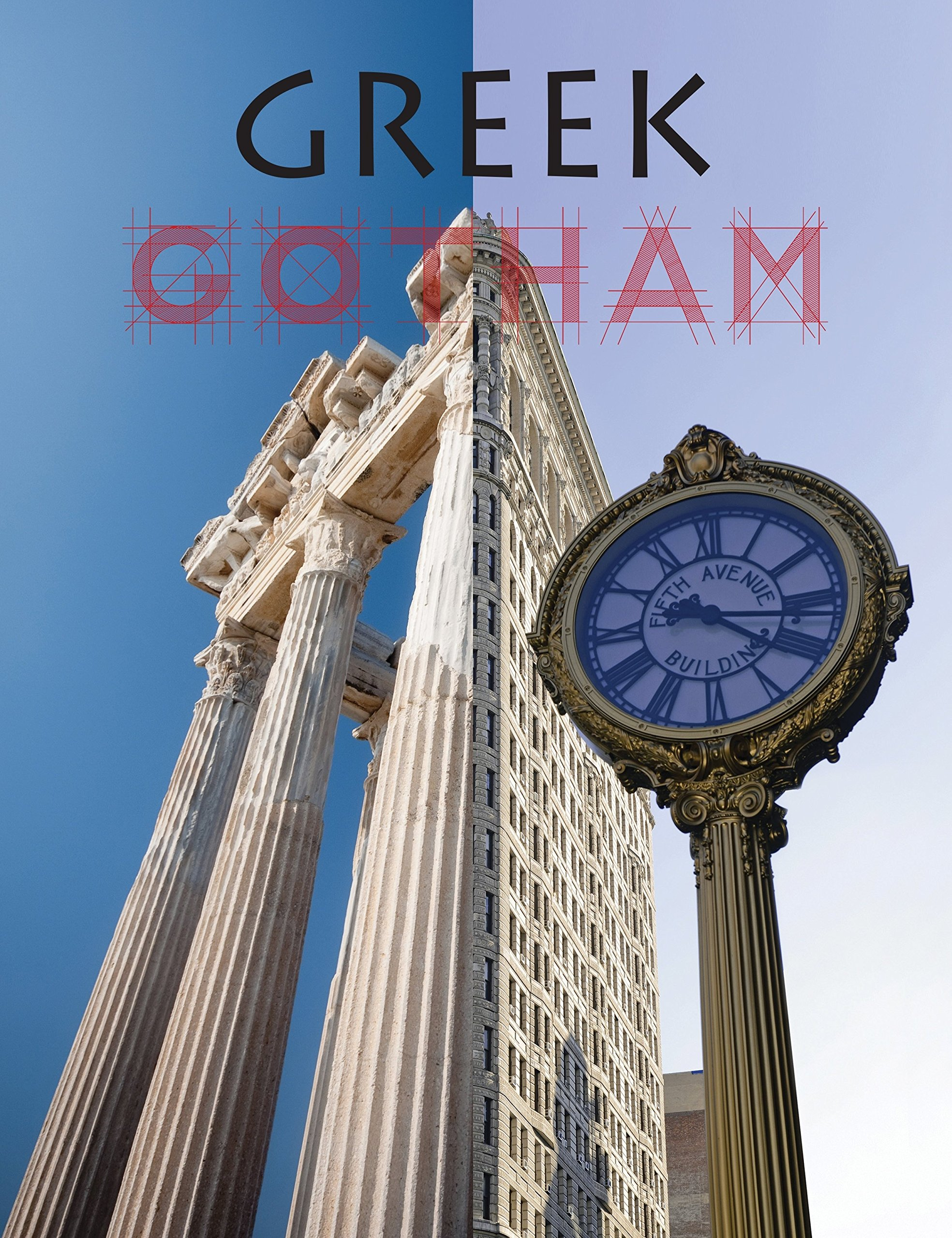 Greek Gotham  Book  Written and designed by art adviser, curator and creative designer, Maria Brito and with an introduction by art dealer, writer, art adviser and curator, Jeffrey Deitch,  Greek Gotham ; is a lush and colorful contemporary art catalogue that examines the legacy of Ancient and Classical Greek through the lens of a group of 16 contemporary artists based in New York City. Artists include: assume vivid astro focus, Nina Chanel Abney, Greg Bogin, Mira Dancy, Raul De Nieves, Michael Dotson, Sebastian Errazuriz, Nir Hod, Todd James, Misaki Kawai, KAWS, Robert Lazzarini, Austin Lee, Taylor McKimens, Matthew Palladino and Erik Parker. While making comparisons to Classical and Ancient Greece, the essays and artworks touch on many relevant issues present in New York today: LGBT, drugs, sexuality, social inequality, race, body image, technology and social media, among others. This catalogue is published in conjunction with Greek Gotham, a group show curated by Maria Brito at Dio Horia on the Island of Mykonos and comprised exclusively of New York-based artists.