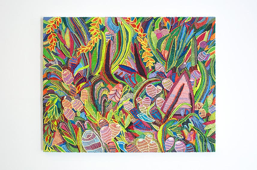 Caroline Larsen_Garden Party_Oil on Canvas_94 x 119 cm_2018.jpg