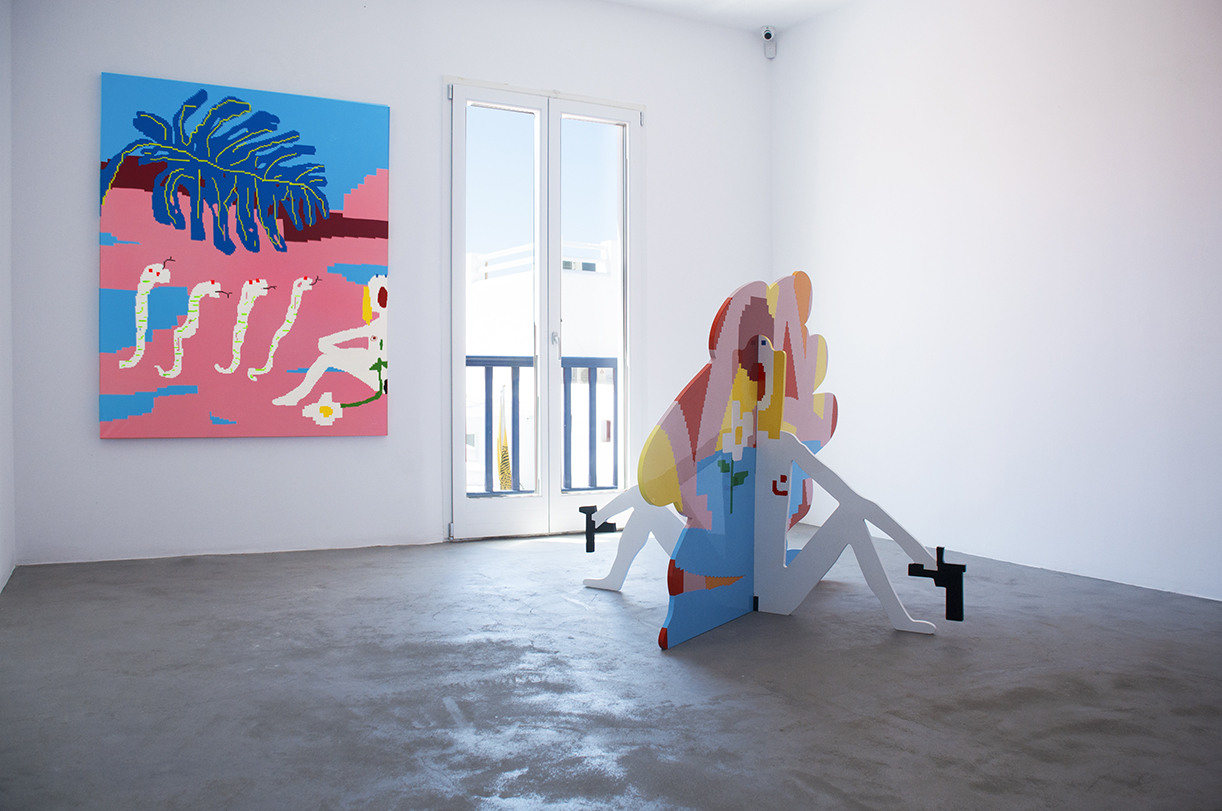 Maja Djordjevic_I Will Find You_I'm Going' Till My Heart's Still Strong to Forgive, I Will Find You_installation shot_2.jpg