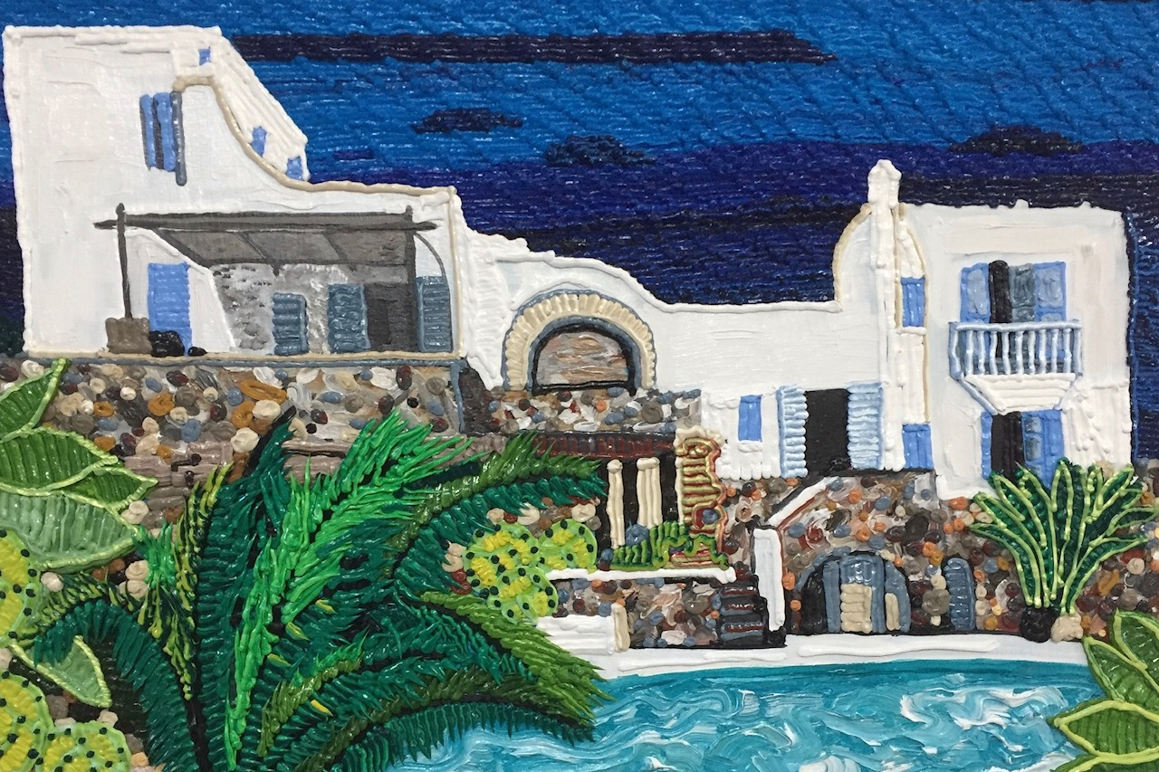 MAY 24 - JUNE 25, 2019    Caroline Larsen: Cyclades  | Residency Show  Dio Horia Gallery, Mykonos
