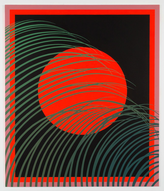 Sam Friedman,  Untitled , 2019. Acrylic on canvas, 182.88h x 152.40w cm.