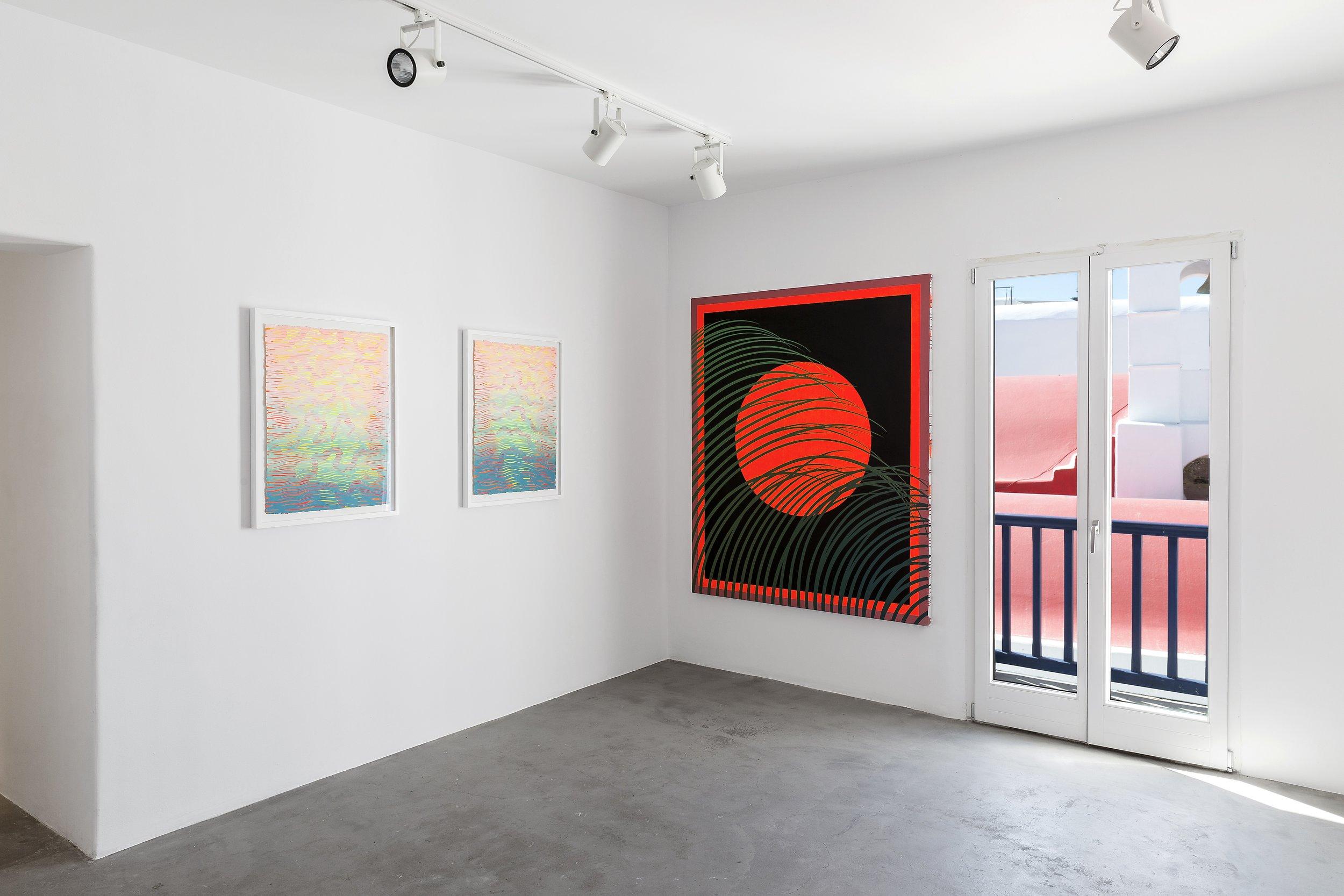 Sam Friedman, Days of Kindness, 2019. Installation view.
