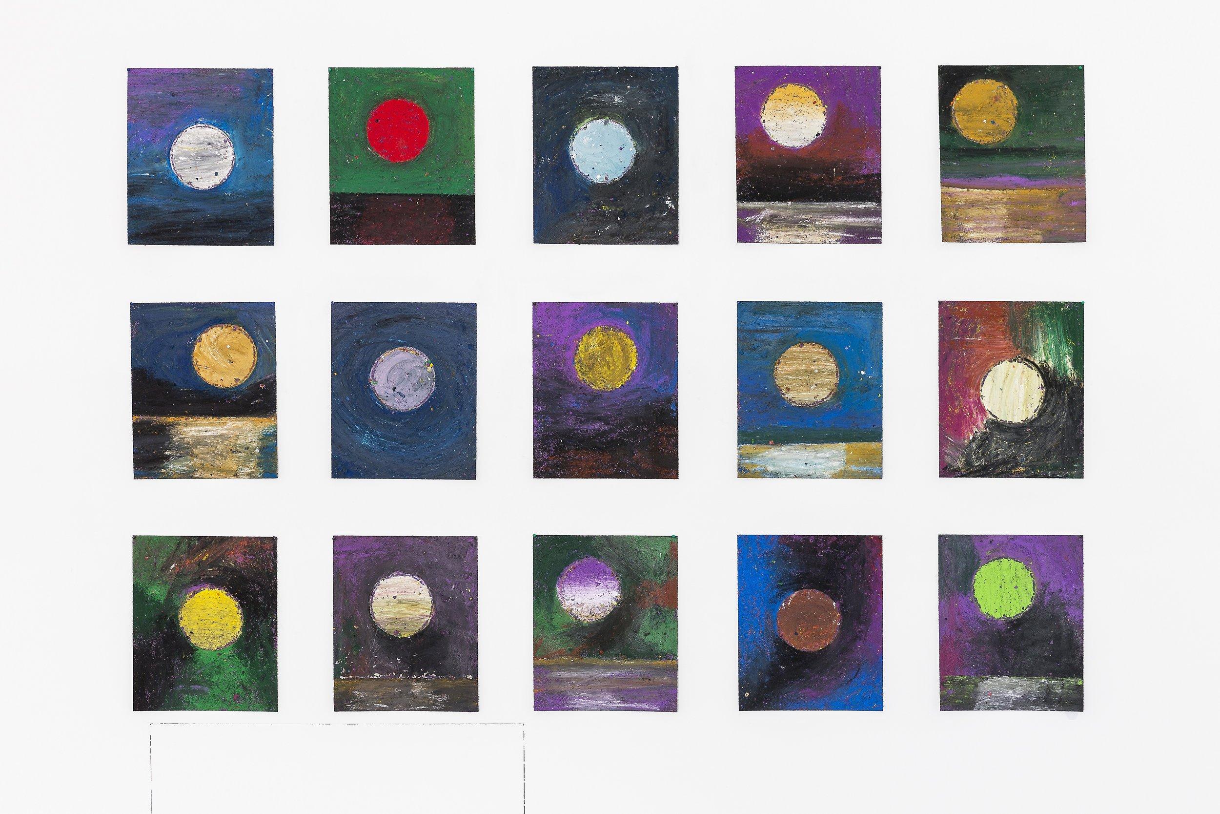 Sam Friedman,  Days of Kindness , 2019. Installation View.