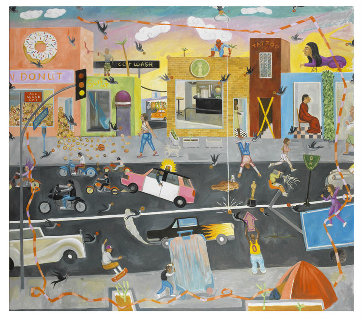 JULY 25 - AUGUST 16, 2019      Spyros Aggelopoulos: Donut Factory  | Solo Show    Dio Horia Gallery, Mykonos