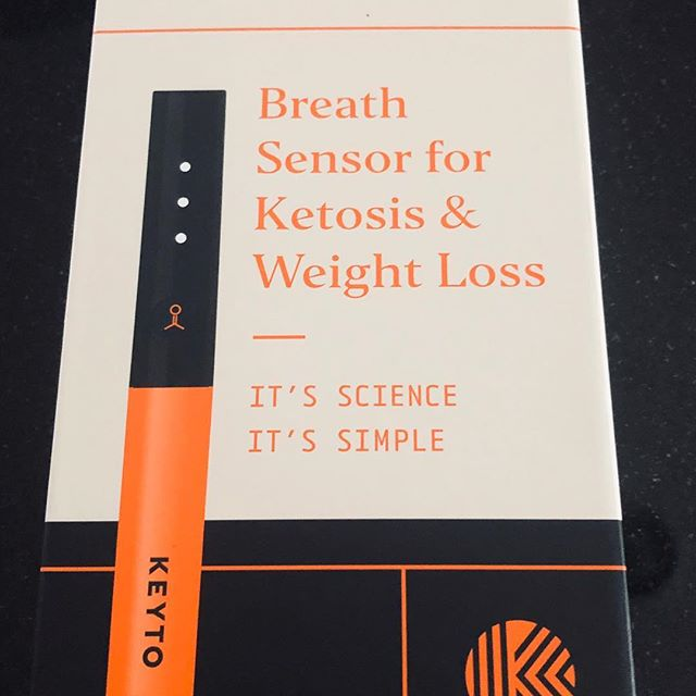 Finally got my Keyto in the mail today! I am looking forward to testing it out and using the associated app on my phone. If this is as accurate as the developers say it is, I won't hesitate to recommend it to my patients and clients as a simple and effective way to monitor the level of ketosis they are in at any given time.  #keyto #keto @keyto.health  #ketogenic #ketosismonitoring #fatadapted  #healthyfat #bulletproof #humanpotentialcoach #fxnlhealth #biometrics #goketo