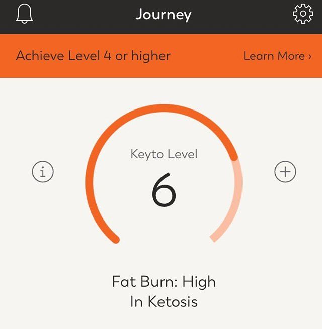In high fat-burning range now!  #ketosis #keyto #highfat #acetone #fxnlhealth #humanpotentialcoach