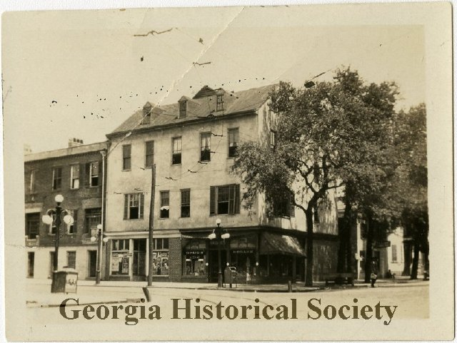 Courtesy the  Georgia Historical Society .