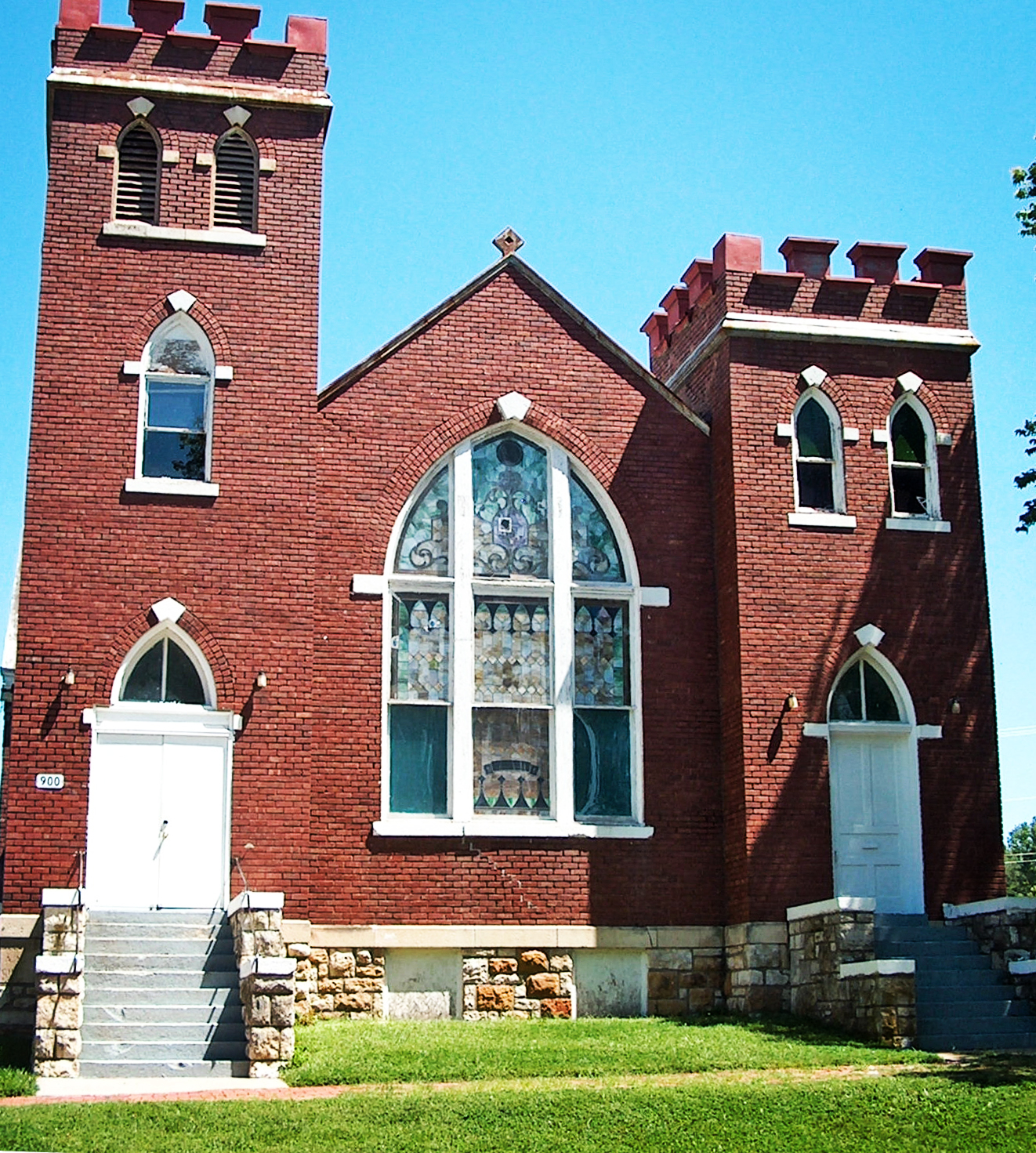 St. Luke AME Church, 900 NEW YORK ST, LAWRENCE, KS