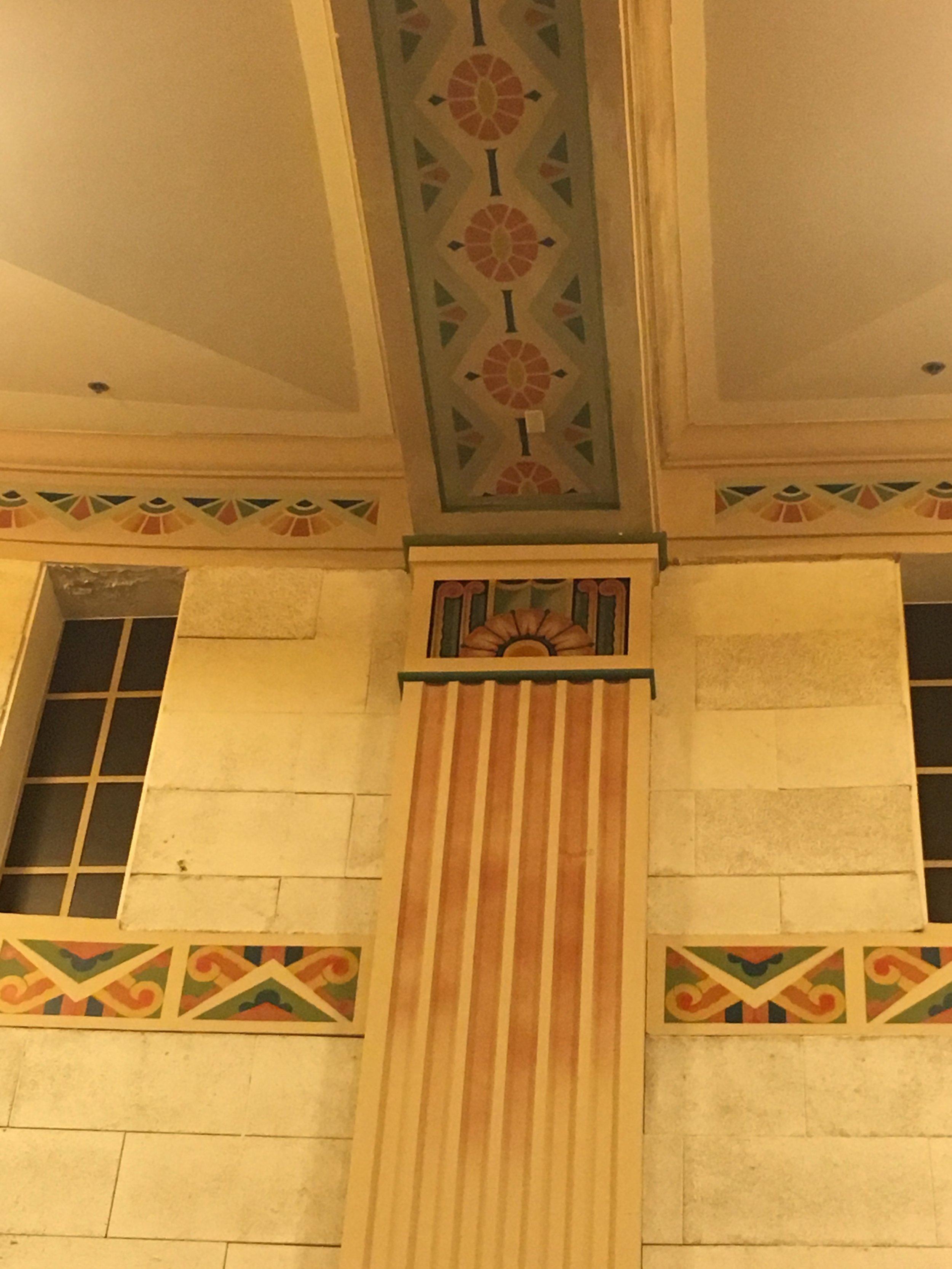 Auditorium column detail