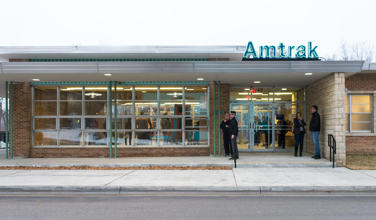 The renovated Santa Fe Depot. Photo by Leilani Photographs