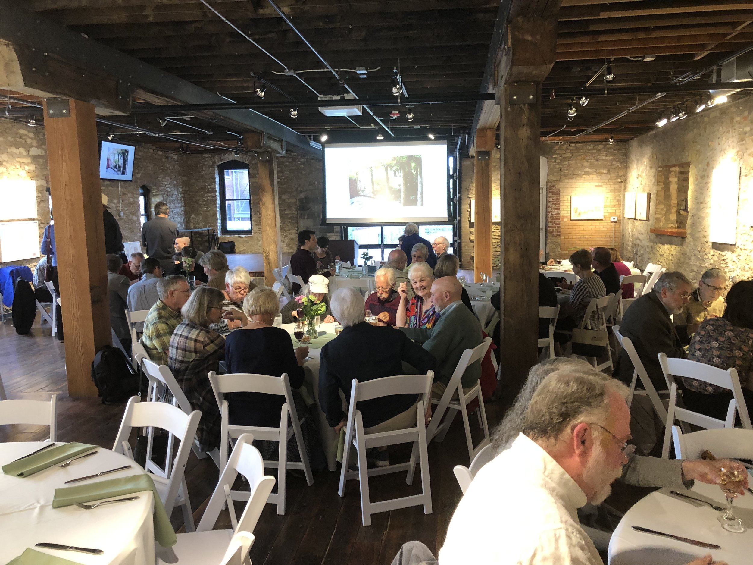 2019 Preservation Achievement Awards event, Cider gallery