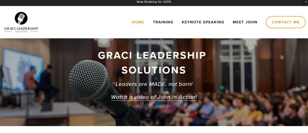 Hire John Graci to speak for you!