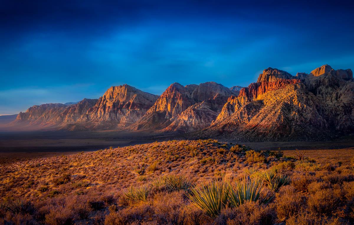 First Light Sunrise Red Rock National Conservation Area.jpg