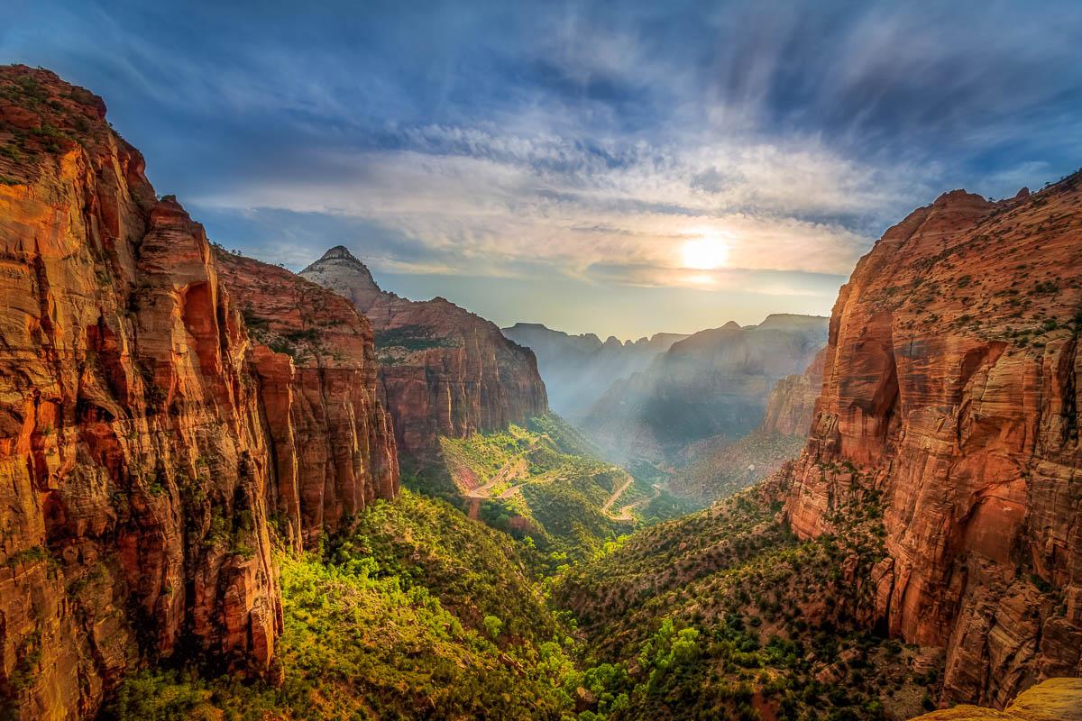 Zion National Park Overlook Sunset.jpg