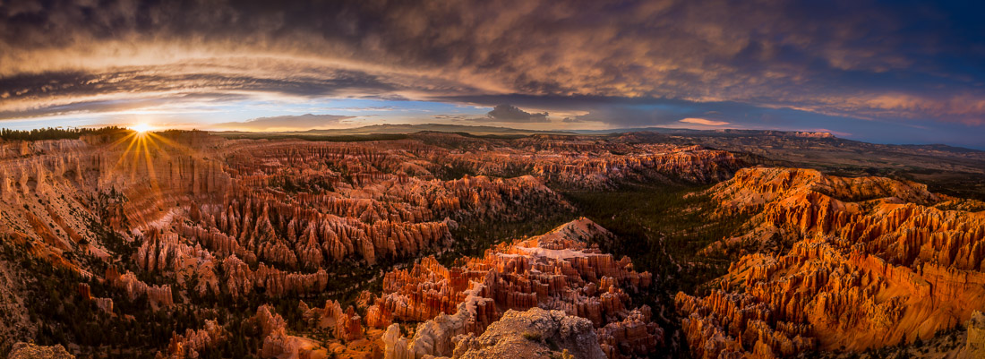 Sunset at Bryce Canyon National Park
