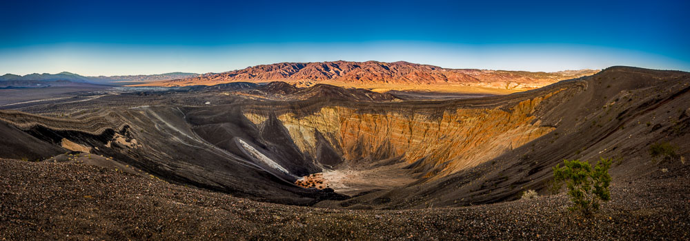 Ubehebe Crater in Death Valley National Park