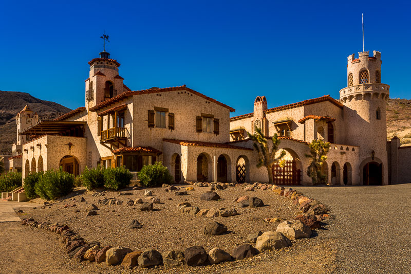 Death Valley Ranch, also known as Scotty's Castle at Death Valley National Park