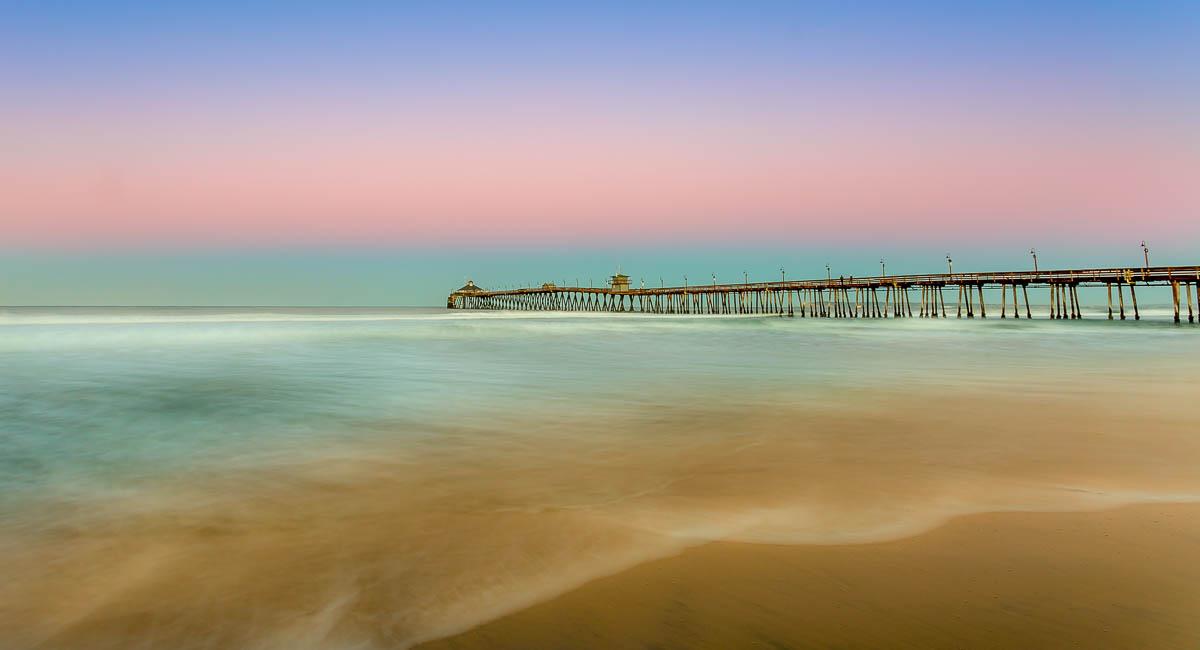 Imperial Beach Pier at Sunrise