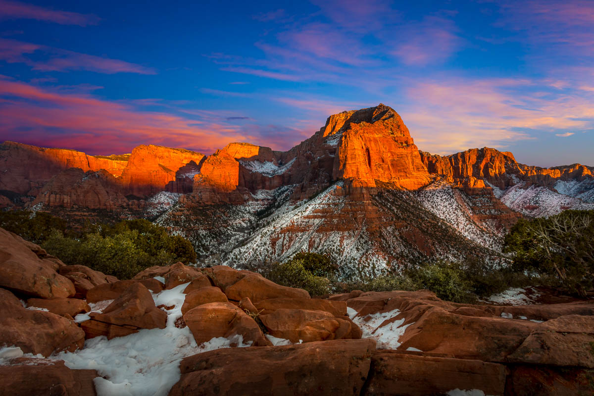 Kolob Canyons Fire and Ice