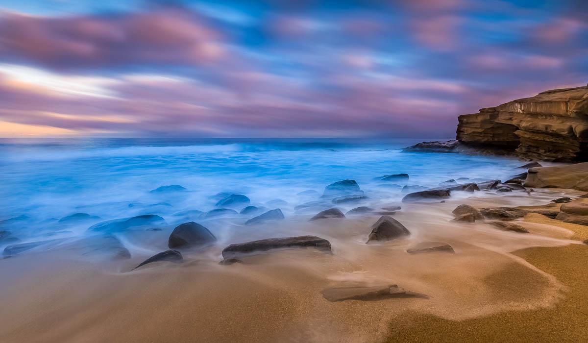 Mystical Beach Scene
