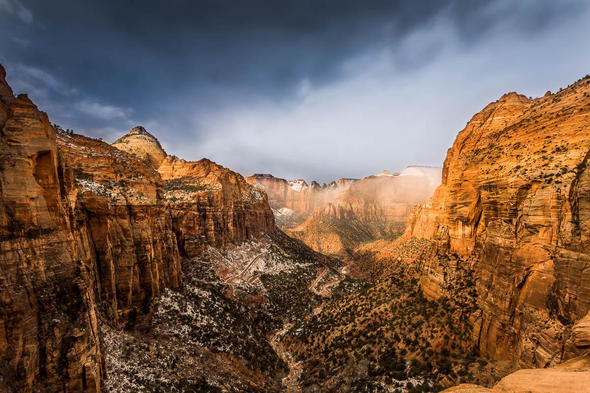 Winter Canyon Overlook