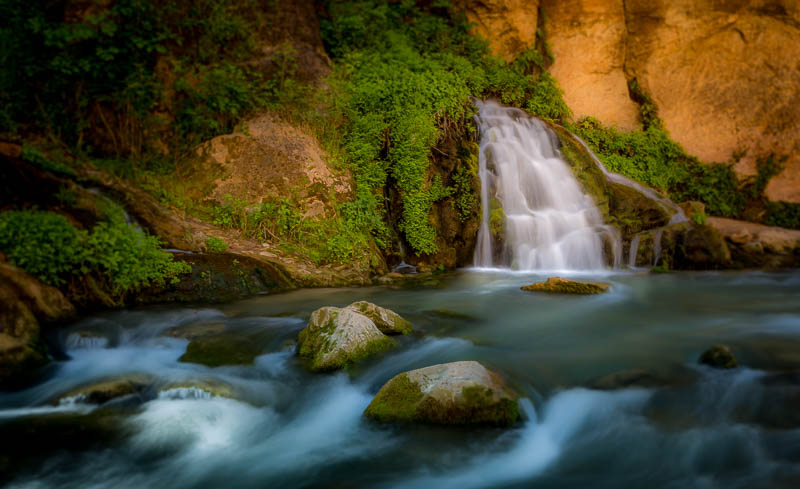Big Spring in the Narrows in Zion National Park