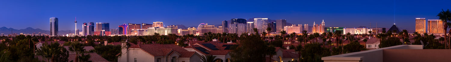 The Las Vegas Strip (click to enlarge)