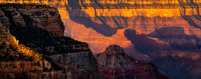 Sunrise at the North Rim, Grand Canyon National Park