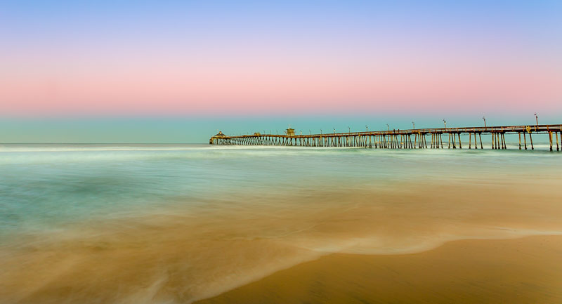 Imperial Beach Pier at Sunrise, San Diego, CA