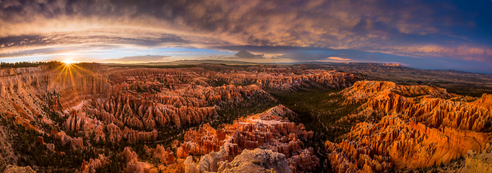 Bryce Point Sunset, Bryce Canyon National Park