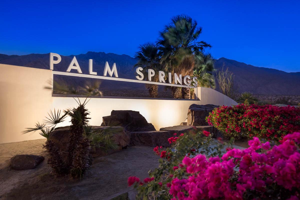 Palm Springs Evening