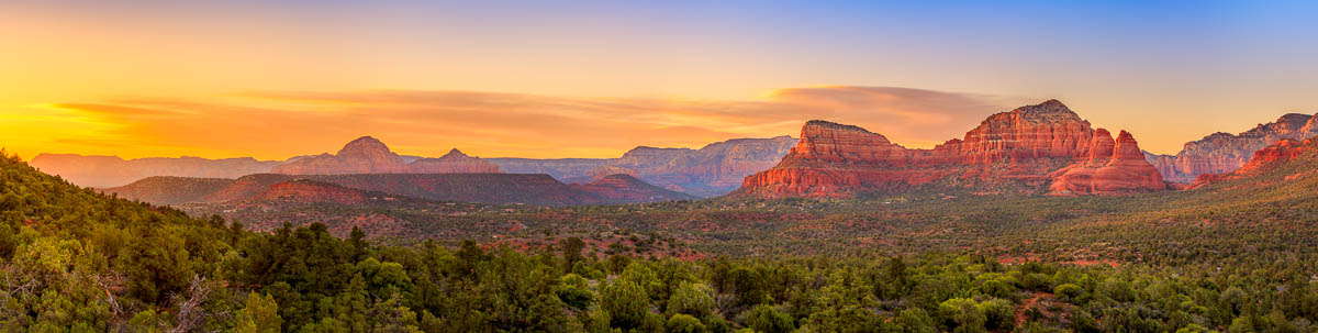 Last Light Over Sedona