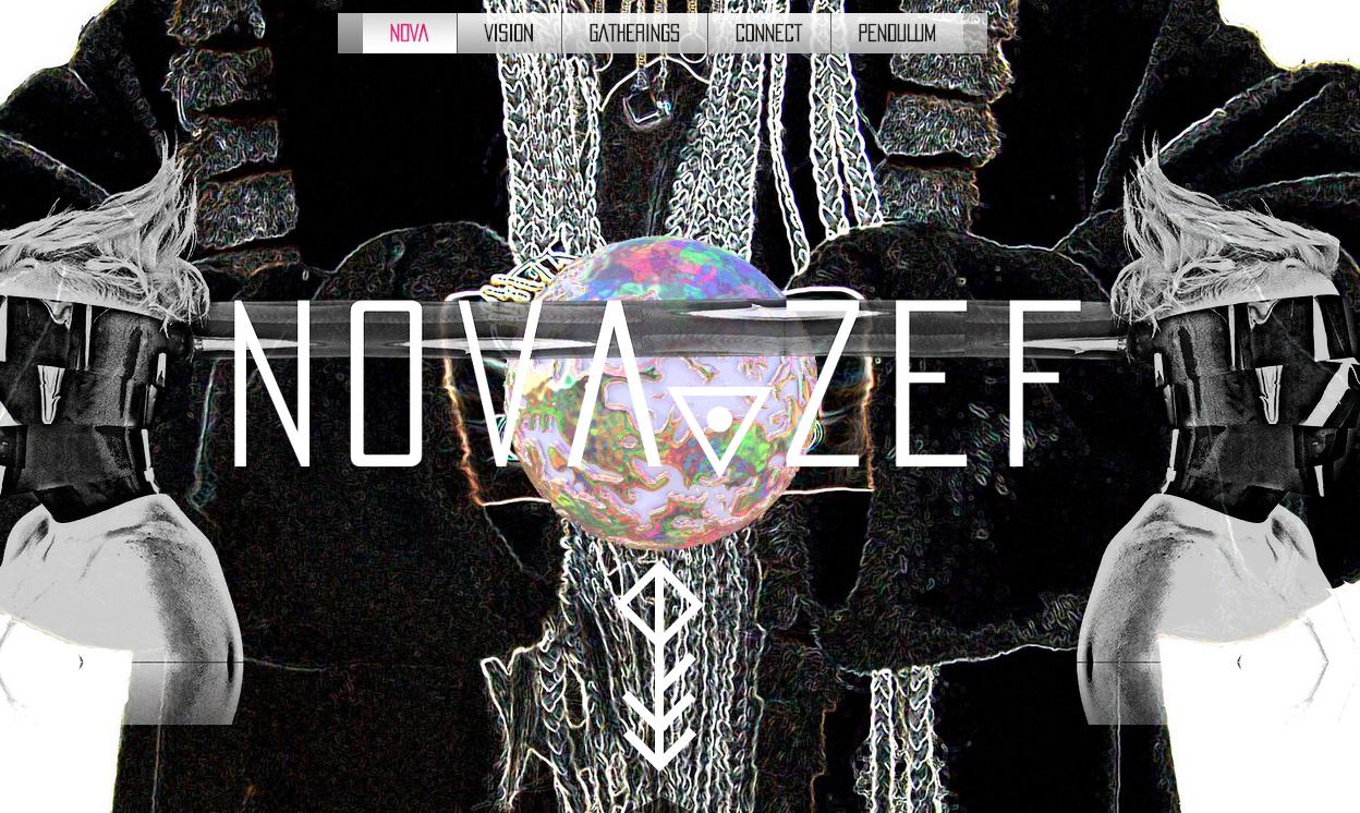 Photographed and Interviewed Artist, Nova Zef - imagesfeatured on website