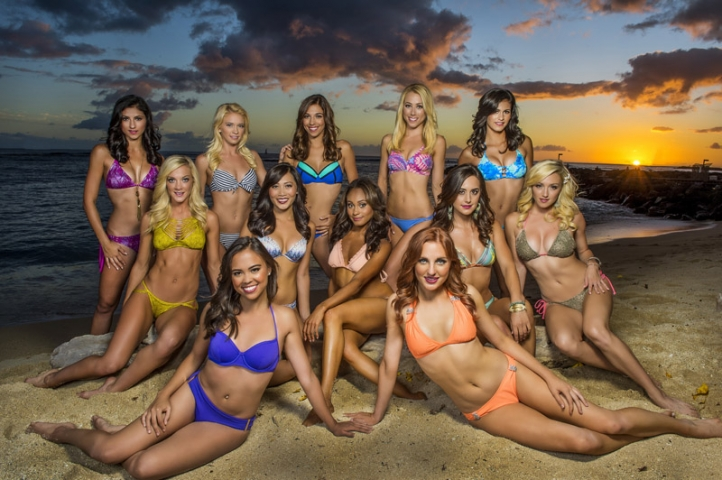 Laker Girls Hawaii Finalists, courtesy of the LA Lakers