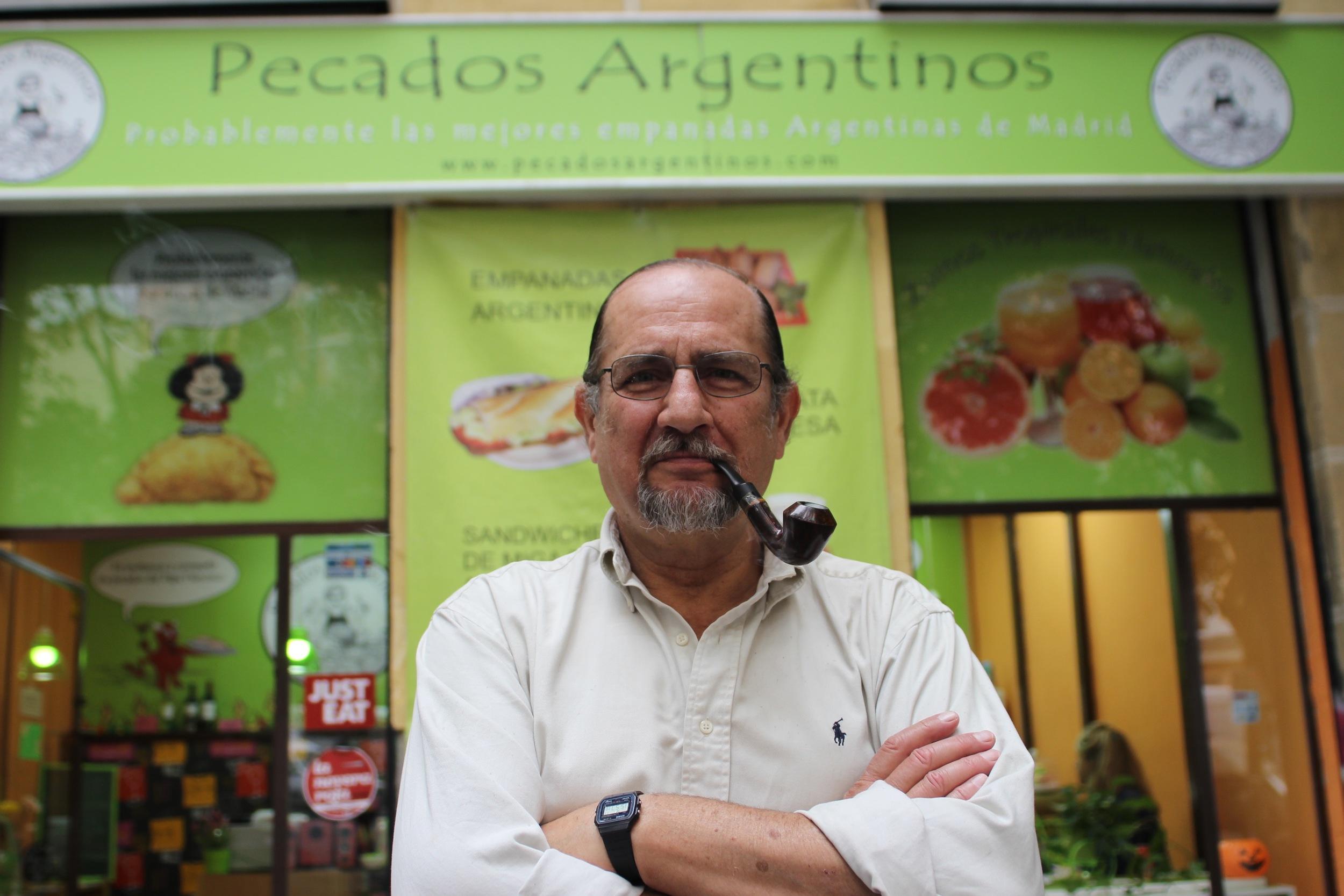 Raúl, Socio Fundador de Pecados Argentinos.