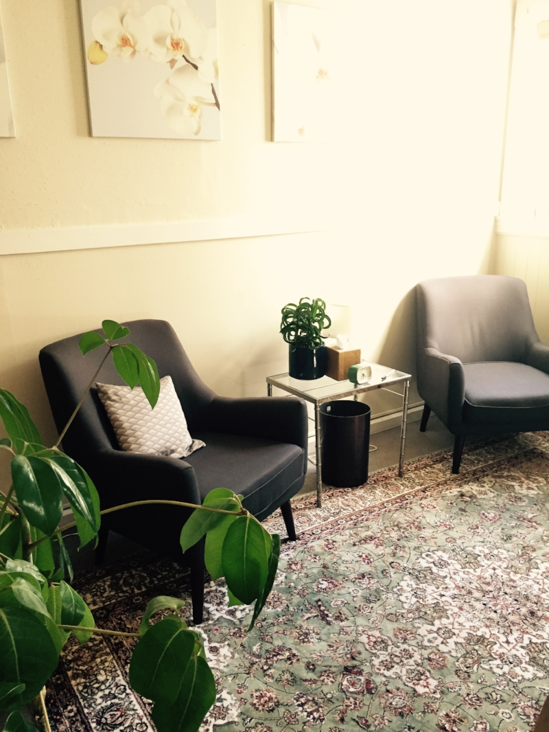 Bianca's Psychotherapy Office, Located on Market Street in Duboce Triangle at Church Street Station.