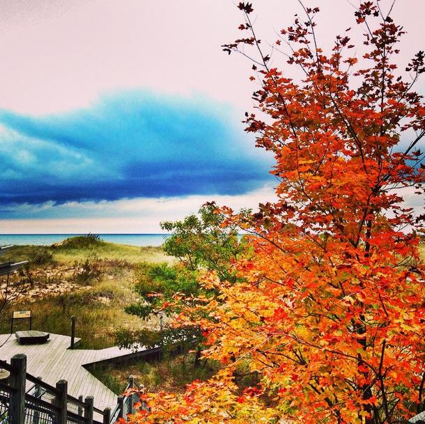 Lake Michigan.Photo: Courtesy Annji Mandersheid