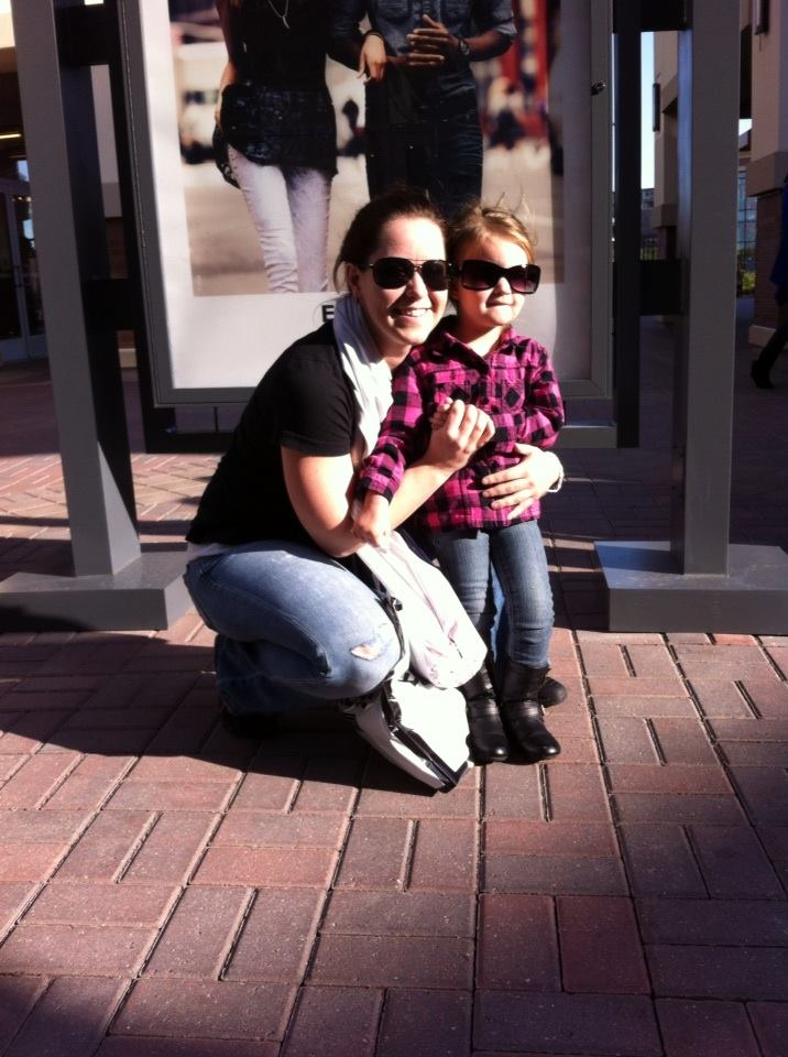 """Jessica and her niece Adeline. """" I call her my mini. She totally has my personality to a T!"""" Photo: Courtesy Jessica Cross"""