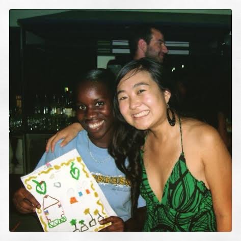 """"""" I was the Orphanage Student Organization's President when I was in medical school and we held an annual art auction, where we would auction off the paintings the kids did to provide beach lunches/outings, school supplies, uniforms, toiletries and medicine for the kids."""" 