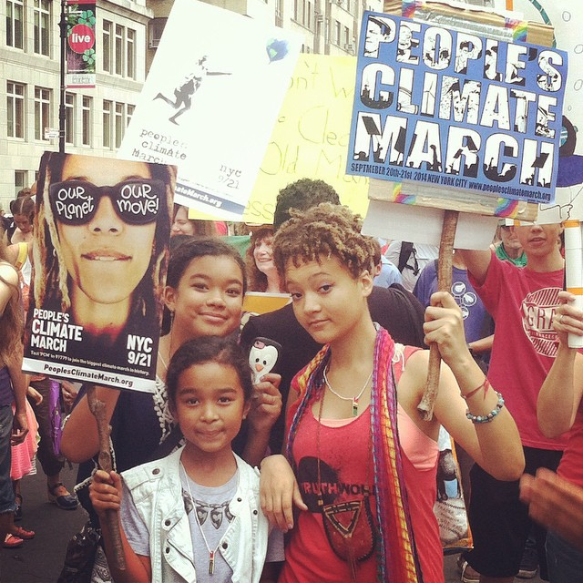 Climate March NYC |  Photo: Courtesy Jungwon Kim