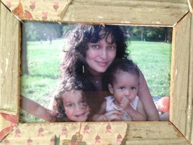 My kids and me, ten years ago. | Photo: Courtesy  Amhalise Morgan