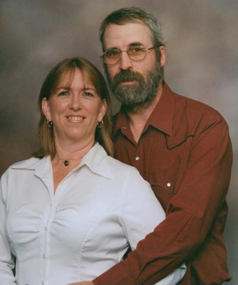 """My husband and me."" | Photo: Courtesy Franki Larrabee"