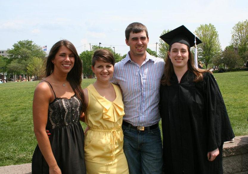"""My children,Nichole, Raydene, Wesley and Kendi at Kendi's graduation fromthe University of Wisconsin--Madison."" | Photo: Courtesy Franki Larrabee"