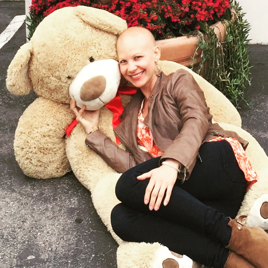 """"""" I was a table host at the Teddy Bear Foundation, helping   to raise money for  families withkids with cancer."""" 