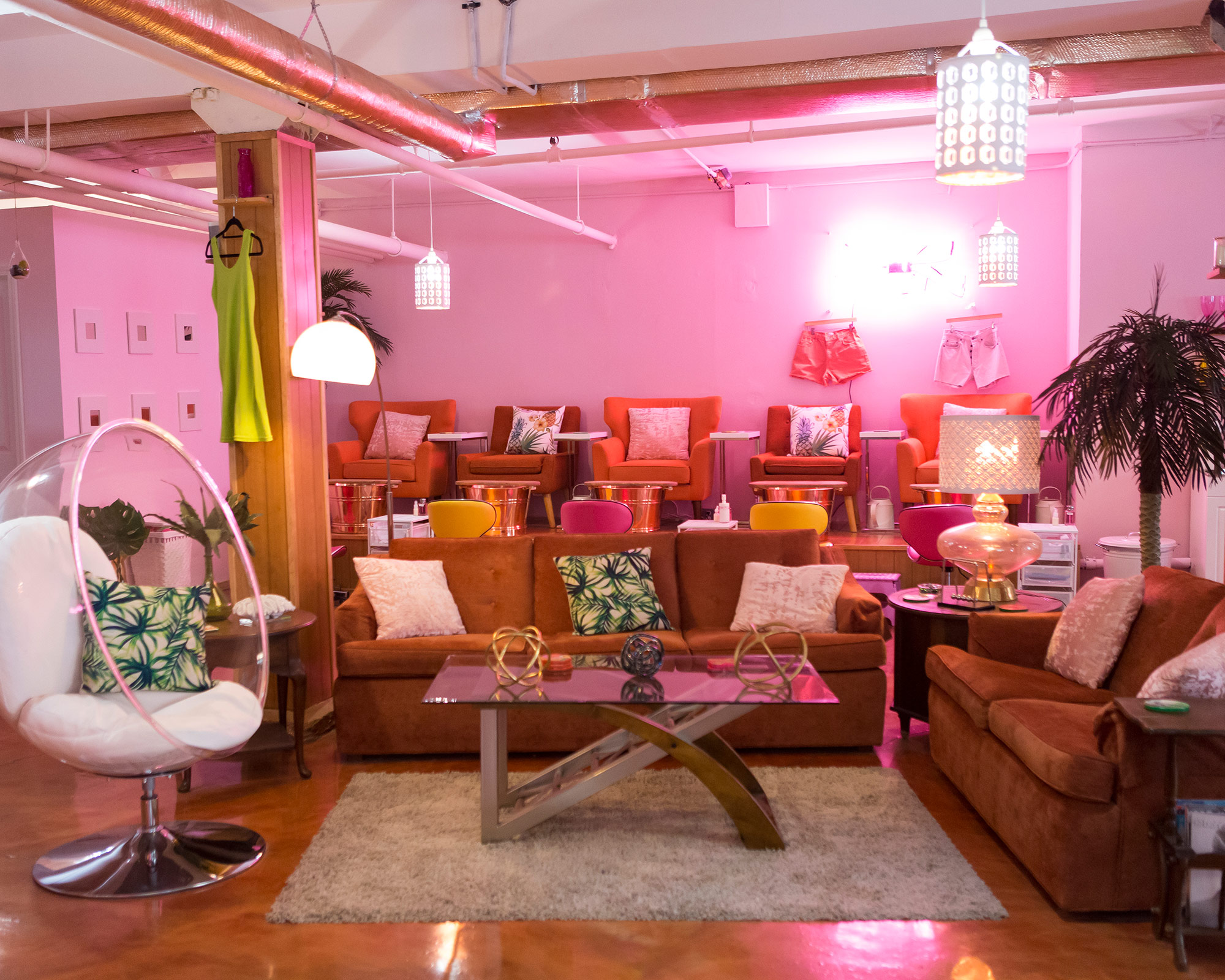 Introducing: Wild Oleander, Bushwick's Newest, Neon-est Nail Salon And Spa - Written by Jennifer Picht | Photography by Raydene Salinas